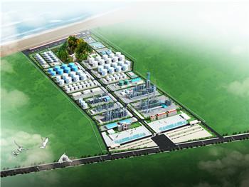 湖北中哈石化工程鸟瞰图